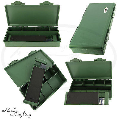 Carp Fishing Tackle Box System With Stiff Hair Rig Storage Board Coarse Angling.