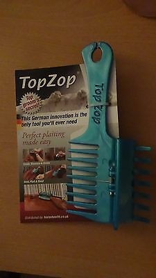 Top Zop Plaiting Comb distributed by horsehealth.co.uk