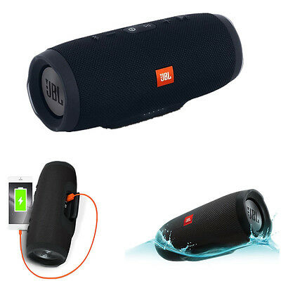 JBL Charge 3 Waterproof Wireless Portable Bluetooth Rechargeable USB Speaker