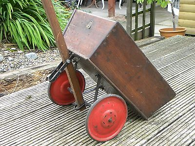 Vintage Triang 1930's Cart Original 9 inch Wheels and Tyres