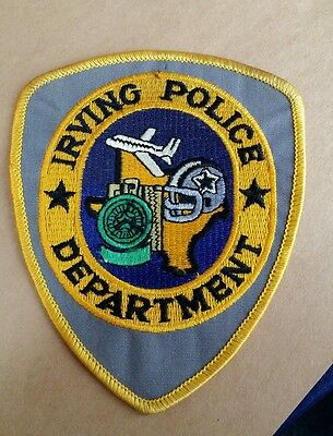 Irving, Texas Police Shoulder Patch Tx 2