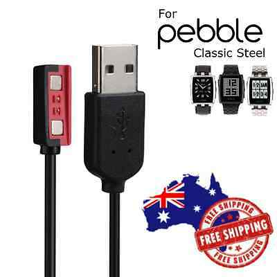 USB Magnetic Charger Charging Adapter Cable Cord For Pebble Steel 2 Smart Watch