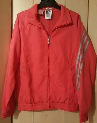 Adidas pink girls jacket age 11 to 12 clima 365 climacool