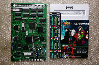 The King of Fighters 2003 + Original Flyers Jamma PCB Arcade Game Japan
