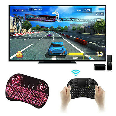 2.4Ghz Mini Wireless Keyboard Backlit Perfect for Raspberry Pi PC/Android