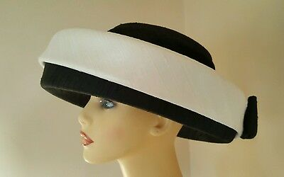 Ladies Wedding Mother Bride Hat Silk Fully Lined by Whiteley