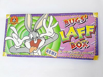 Bugs Laff Box Looney Tunes Bookset 6 books Cartoon bugs bunny taz collectable