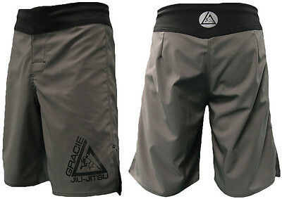 Gracie Jiu-Jitsu Undercover Fight Shorts Size 32