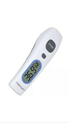 MeasuPro IRT250 No Touch Digital Forehead Thermometer with Baby Safe LED Guide
