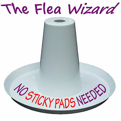 Flea Wizard Flea Trap With The Latest Led Lure Technology.