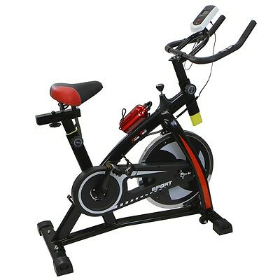 Stationary Exercise Bicycle Indoor Bike Cycling Cardio Health Workout Fitness a1