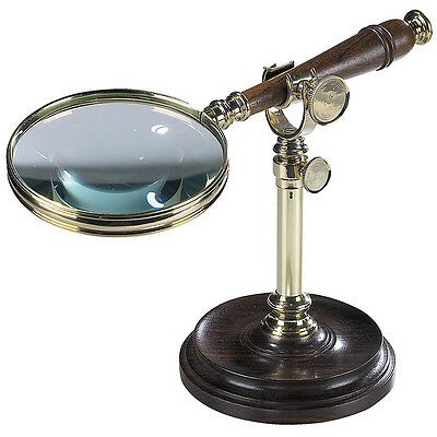 NEW Authentic Models Magnifying Glass with Stand