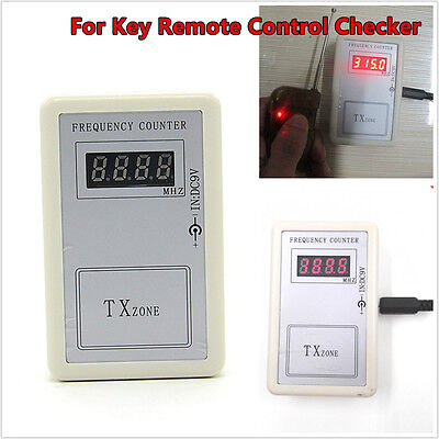 Car Key Remote Control Checker RF Frequency detector Tester Counter Universal