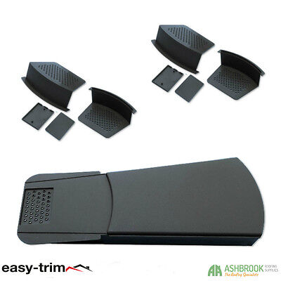 Easy Trim Universal Dry Verge Units | Roof Tile Edge Protection | 2 Starter Kits