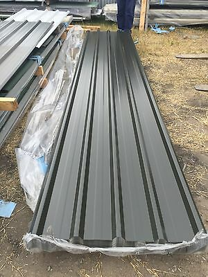 Dark Grey Roofing Sheets @ $8.50 per/LM DELIVERY AVAILABLE