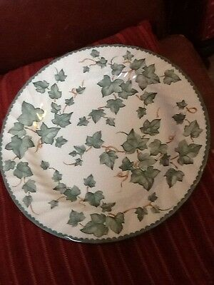 Bhs Country Vine Trailing Ivy Dinner Plate