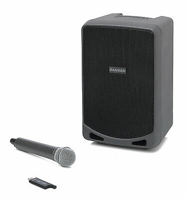SAMSON Expedition XP106w - Rechargeable Portable PA with Handheld Wireless