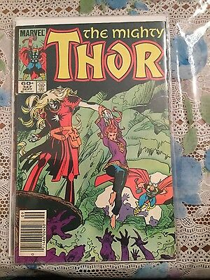 The Mighty Thor # 347 F