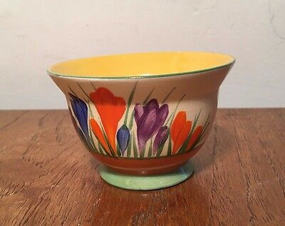 Clarice Cliff - Crocus - Sugar Bowl