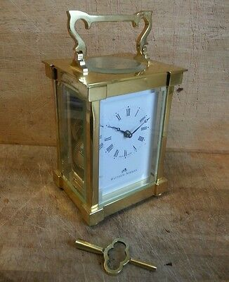Swiss Made Carriage Clock by Matthew Norman  in Excellent Working Condition.