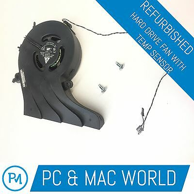 MAC A1311 Hard Drive Cooling Fan 610-0029 with Temperature Sensor Cable 593-0996