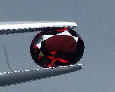 1.75Cts Top Lustrous !!! Natural Red Garnet  Loose Stone Gems (5328)