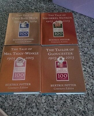 Beatrix potter gold books