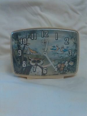 Vintage Wind Up Novelty Clock