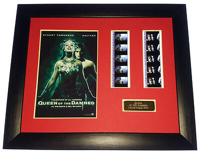 QUEEN OF THE DAMNED 35mm FRAMED AND MOUNTED FILM CELL PRESENTATION