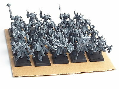 Mantic Games Kings Of War Lower Abyssals X 20. Assembled