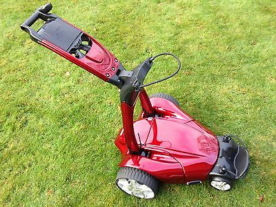 Stewart Golf ZIEGLER X7 REMOTE GOLF TROLLEY Candy Red Carbon
