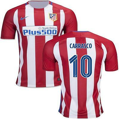 Atletico Madrid Home jersey CARRASCO 10 for size M