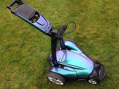 Stewart Golf ZIEGLER X7 REMOTE GOLF TROLLEY Aurora Chameleon