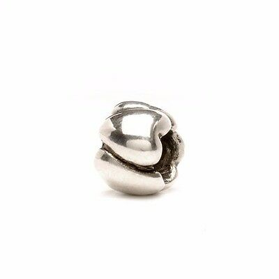 """Trollbeads GENUINE SSilver 925S LAA NEW!! """"HEARTS, SMALL"""" BEAD $49 - 50% OFF"""
