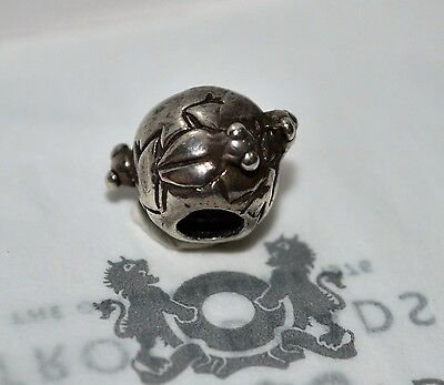 """Trollbeads GENUINE SSilver 925S LAA NEW! RARE!! """"FROG SS BEAD"""" - 50% OFF"""