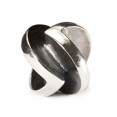 """Trollbeads GENUINE SSilver 925S LAA NEW! """"VICTORY"""" BEAD RRP$105 -50% OFF"""