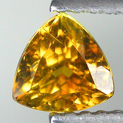 0.70ct AWESOME NEW NATURAL YELLOWISH GREEN CHRYSOBERYL LOOSE GEMSTONES TRILL CUT