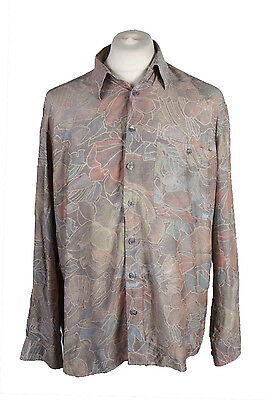 Men's Fashion Vintage Long Sleeve Shirt Multi/Design Size 41/42 - SH090