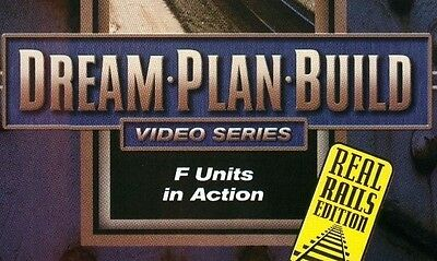 F- Units in Action DVD 73104D Dream Plan Build Series Real Rails Edition EX
