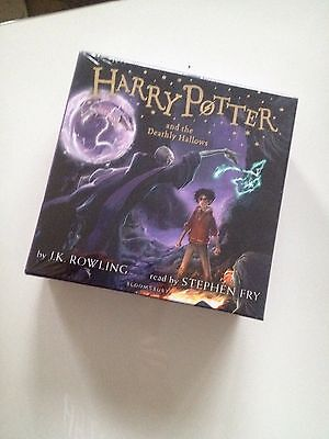 Harry Potter and the Deathly Hallows - Audio Book CDs - Unabridged BNIB