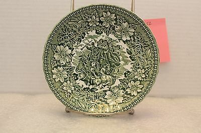 "5 3/4"" Saucer Green English Country Inns, Grindley"