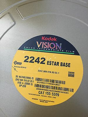 Kodak Vision 2242 35mm Colour Intermediate  Film 2000ft Fresh Stock