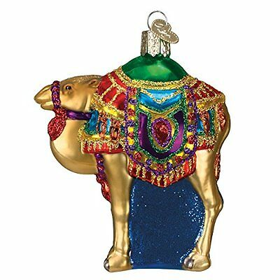 Old World Christmas Magis Camel Glass Blown Ornament