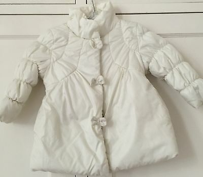 Girls Jacket, 24 Months, MELBY, Ivory Colour