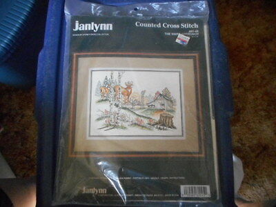 SEALED Janlynn Counted Cross Stitch The Wary Approach #80-45