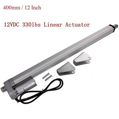 "16""(400mm) Stoke Linear Actuator 1500N 12V  Electric Motor for Car RV Medical"
