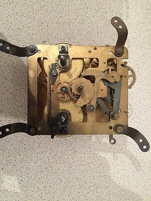 Clock Movement Spares Or Restoration