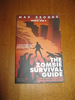 Zombie Survival Guide Book Max Brooks