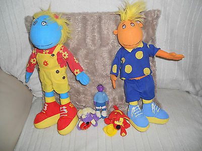 5 TWEENIES Soft Toys Doll BELLA and JAKE LARGE + MILO SMALL + IZZLES AND DOODLES