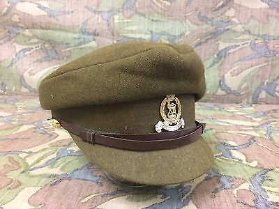 British Royal Army Women's Green Adjutant General Peaked Hat Size 55
